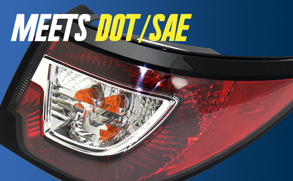 DOT SAE Tail Light replace replacement