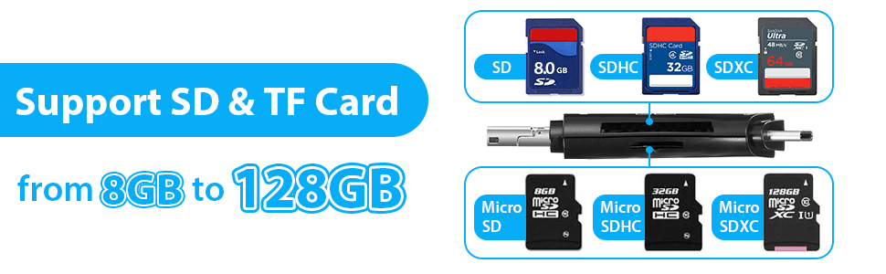 sd card reader memory sd card adapter