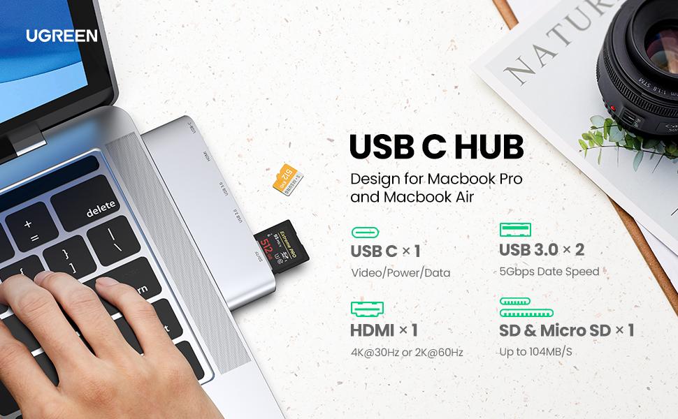 UGREEN USB C Hub for MacBook Pro
