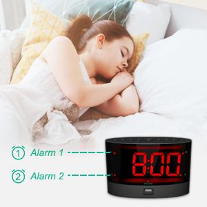 digital dual alarm