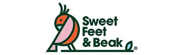 Sweet Feet and Beak