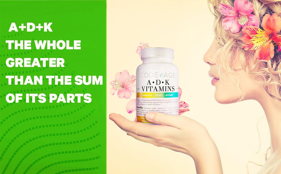 Codeage - ADK Vitamins Perfect Formula