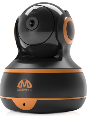 FullHD 1080p WiFi Home Security Camera Pan/Tilt/Zoom, Two-Way Audio - Smart App, Support Alexa