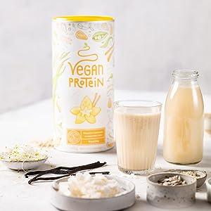 alpha foods vegetarisch veganistisch vegan plantaardig eiwitten protein proteinen vanille chocolade