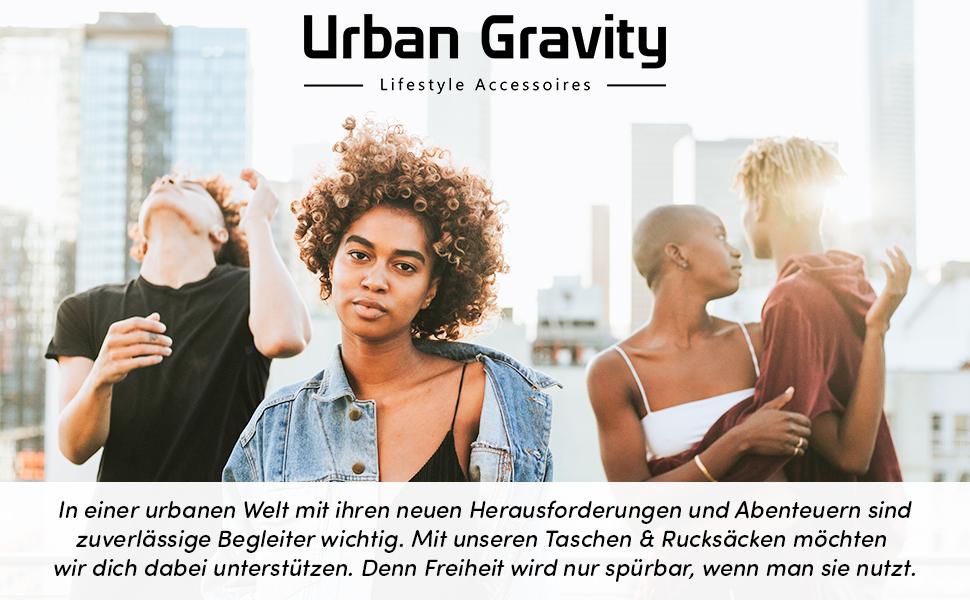 Urban Gravity Ricky Bauchtasche f/ür Alltag /& Reisen doppelter Rei/ßverschluss 35 cm Smartphone Fach Antique Pink Crossbody /& Schultertasche