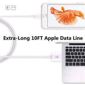Apple charger cord data line 10ft