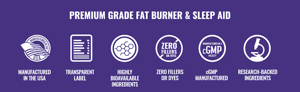Premium Grade Fat Burner & Sleep Aid