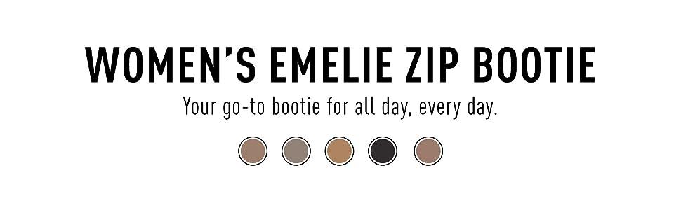 Women's Emelie Zip Bootie