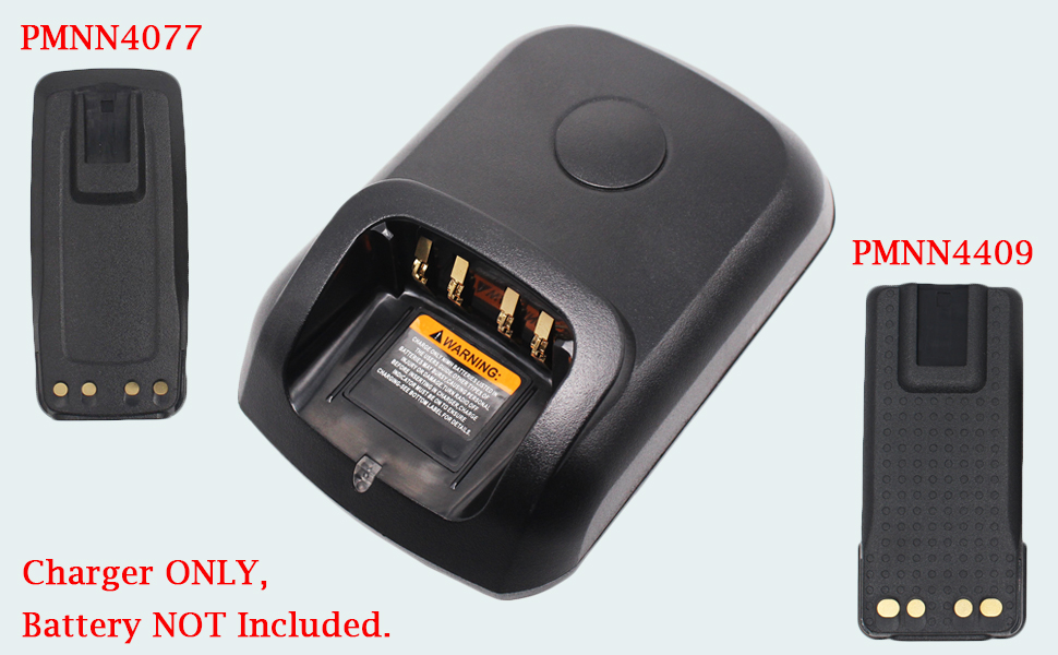 BATTERY CHARGER FOR TRBO XPR6550 XPR6580 XPR3500 XPR3300 DP3400 DP3600 APX1000