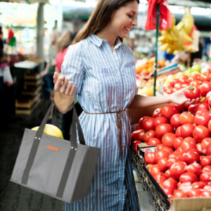 reusable grocery shopping bag bags trolley
