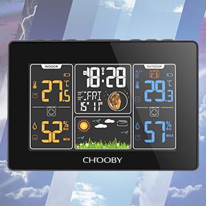 indoor outdoor thermometer wireless