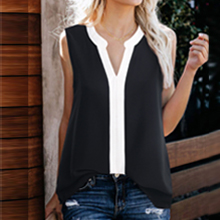 sleeveless cami tank top blouse