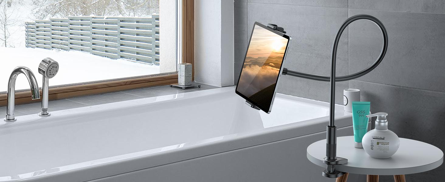 gooseneck ipad tablet holder