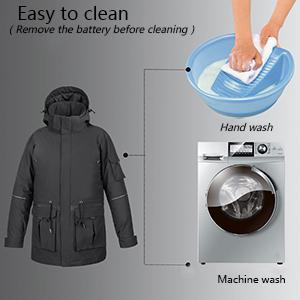 Hand wash and machine wash