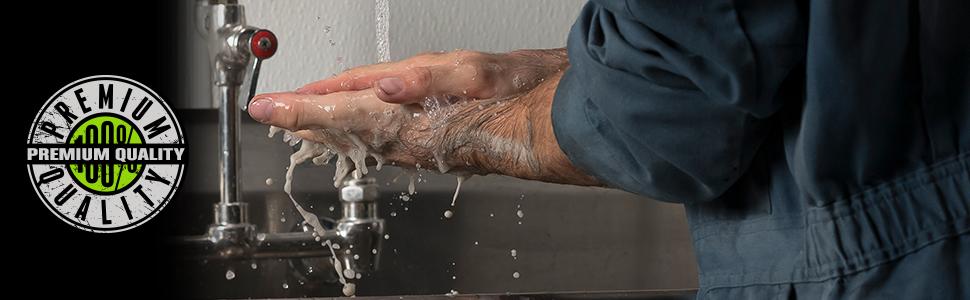 grip clean best hand cleaner auto mechanic industrial soap garage pumice waterless degreaser grit