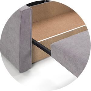 sofa bed corner storage
