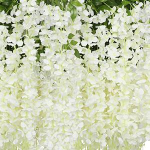 artificial wisteria vine garland