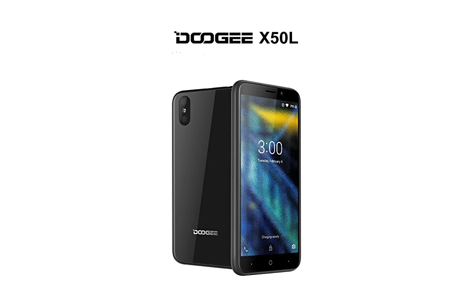 DOOGEE X50L telefono movil 4G, 2019 Smartphone(Android 8.1) Mobile ...