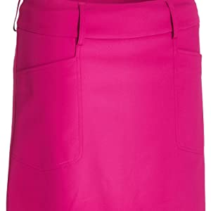 Breathable Stretchable Drycool Wicking Ladies Golf Skorts with Pockets