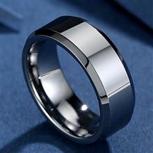 MABELLA Men Stainless Steel Band amp; Women Infinity 925 Sterling Silver Wedding Engagement Ring Set
