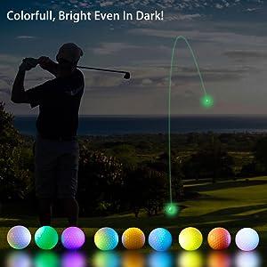 Super Bright LED Night Golf Ball