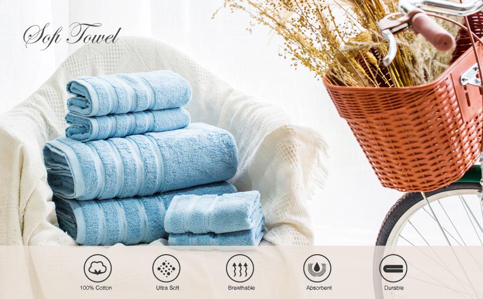 Bath Towel Set 700GSM