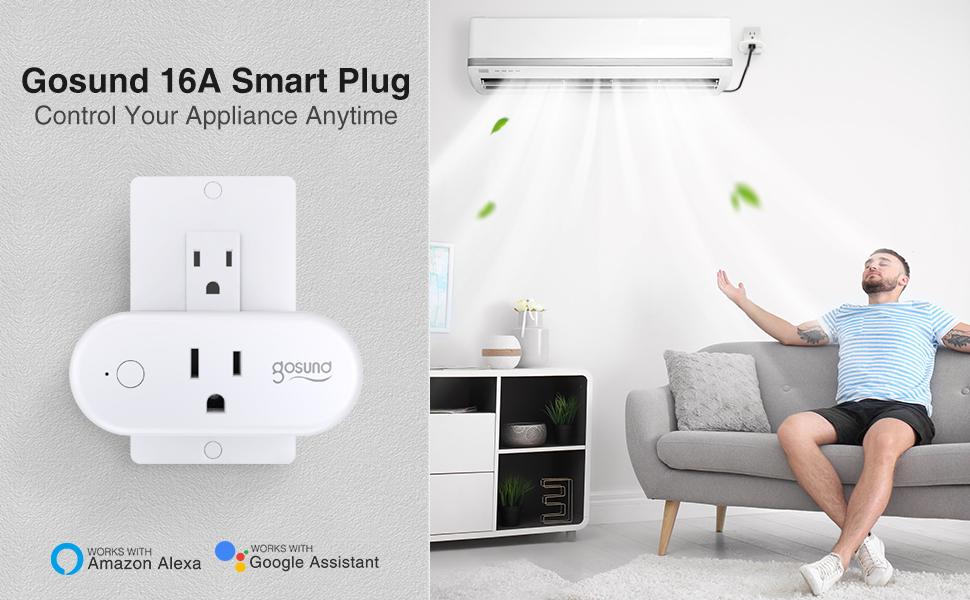 Gosund smart plug 16A