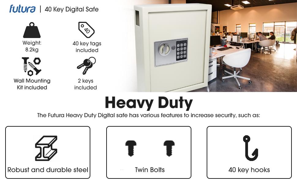 heavy duty digital safe