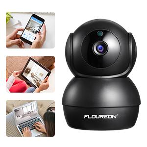 FLOUREON Home Security Camera 2.0MP