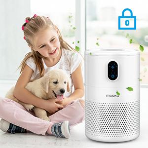 air purifier child lock