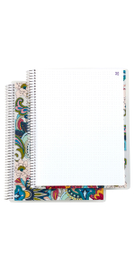 """Coiled Notebook-  8""""x11"""" Dot Grid"""