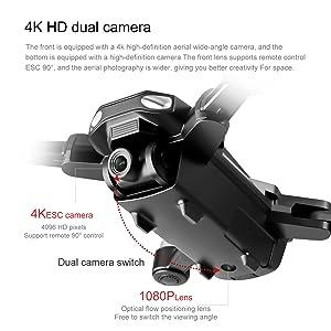 4K HD Dual Camera