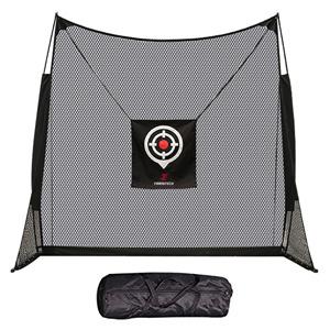 Golf net backyard driving practice hitting swing chipping home stay garage training personal range