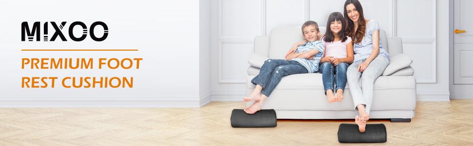 foot rest cushion under desk
