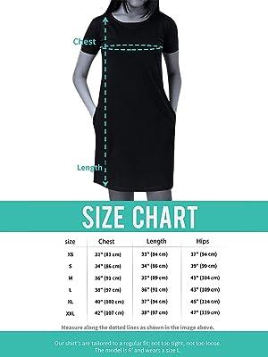 SPN-BFCE Size Chart