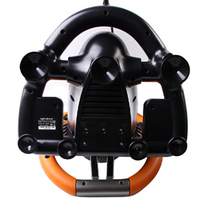 180 Degree Dual-Motor Vibration Driving Gaming Racing Wheel with Responsive Pedals for PC/PS3/PS4/XBOX ONE/Switch PXN-V3II (Orange) 71793b1a 6ce6 4171 b51e 1f230bfa0b9b