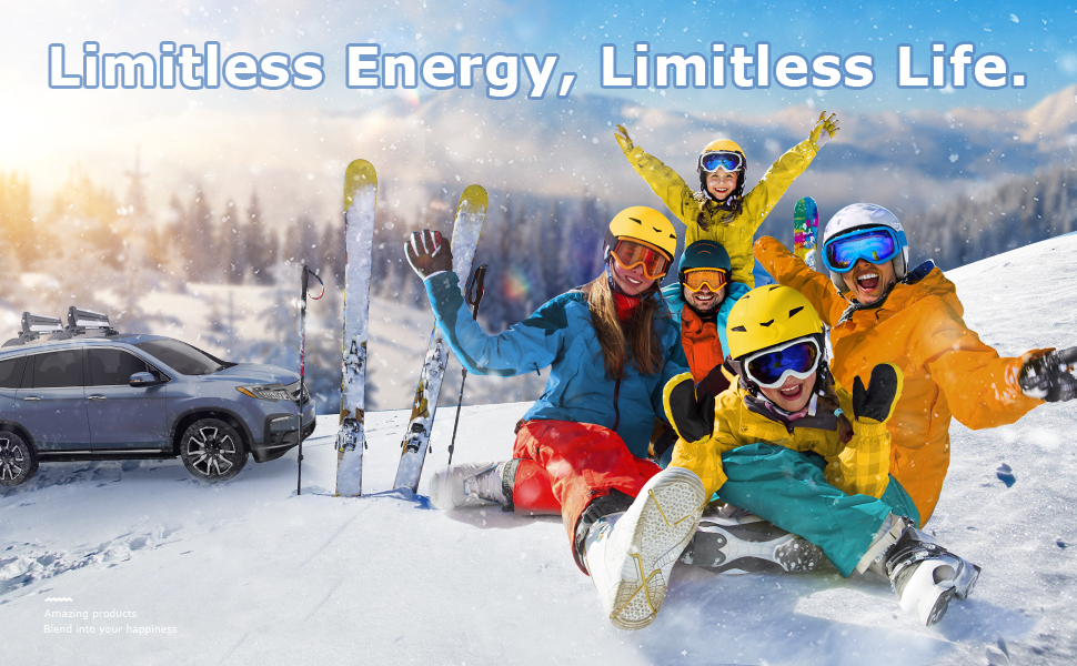 Limited Energy,Limitless Life.