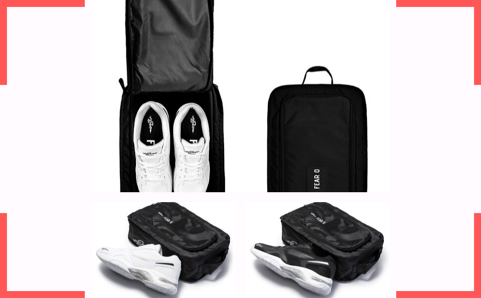 SHOES PACKAGE WITH REUSABLE BAGS