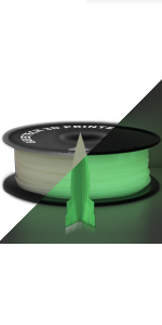 grow in the dark pla filament 1.75mm