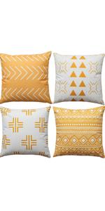 summer pillow covers 18x18