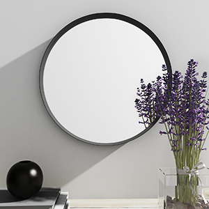 Large Round Wall Mirror for Living Room