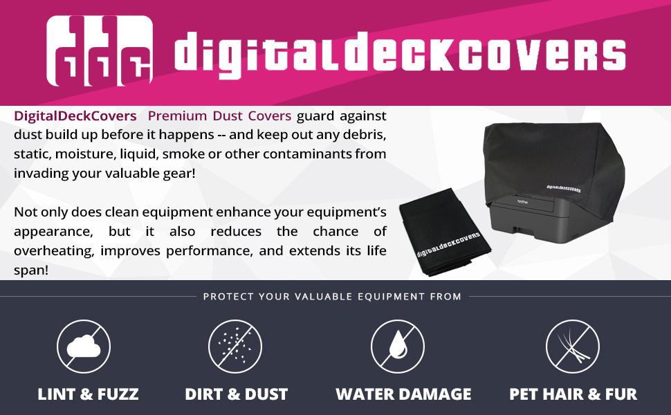 NYLON CUSTOM Printer Dust Cover for Brother MFC-7860DW Printer
