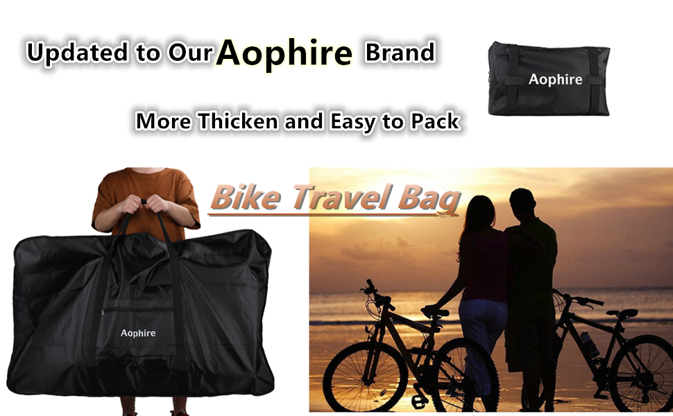 Heavy Duty  Bike Travel Bag Carry Transport Fold Road Mountain Bicycle Storage