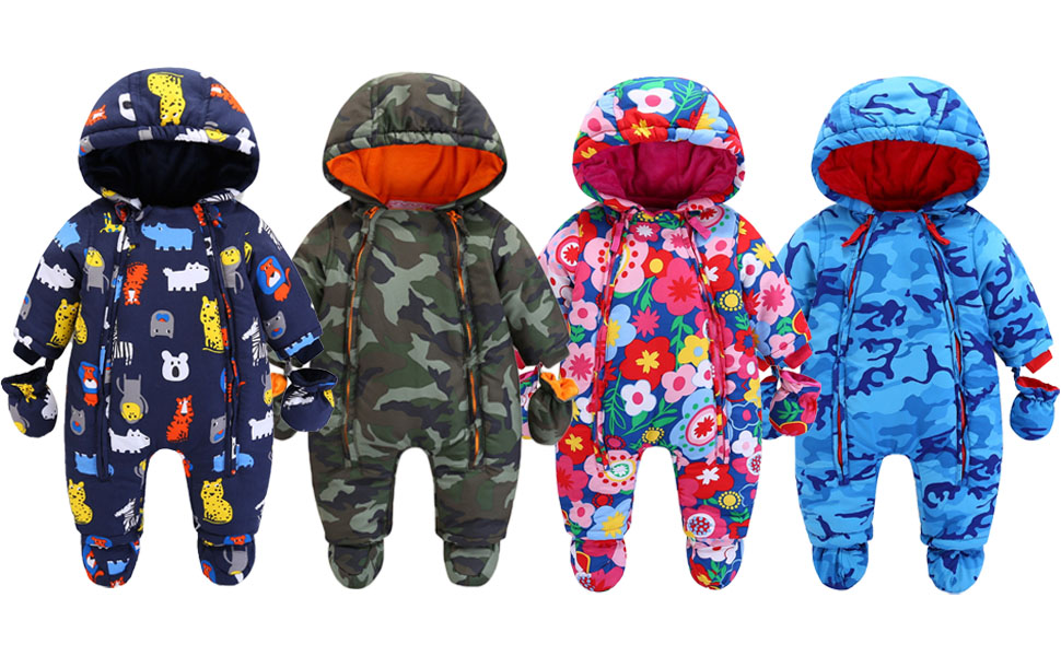 Details about  /Gymboree Gold Snowsuit Booties Mittens 3-6 Months Boys Girls NEW Hooded Unisex