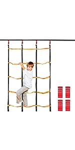 Amazon.com: Odoland Chidren Saucer Tree Swing Net Swing 24 ...