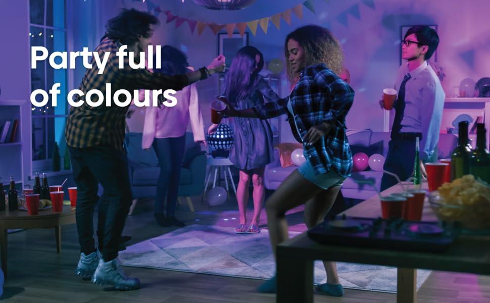 16 million colours, helea smart bulb