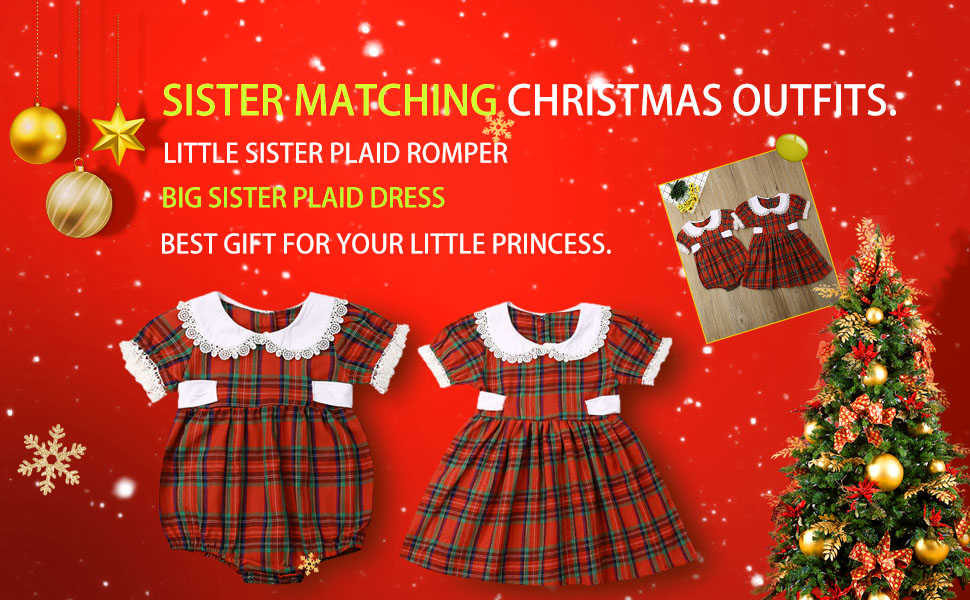 Baby Girls Christmas Outfits