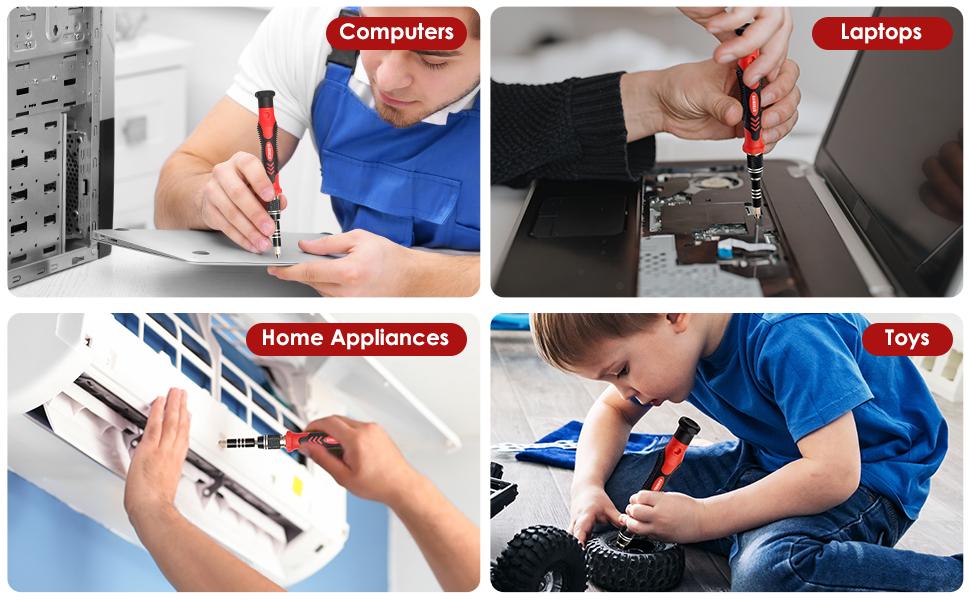 magnetic screwdriver set