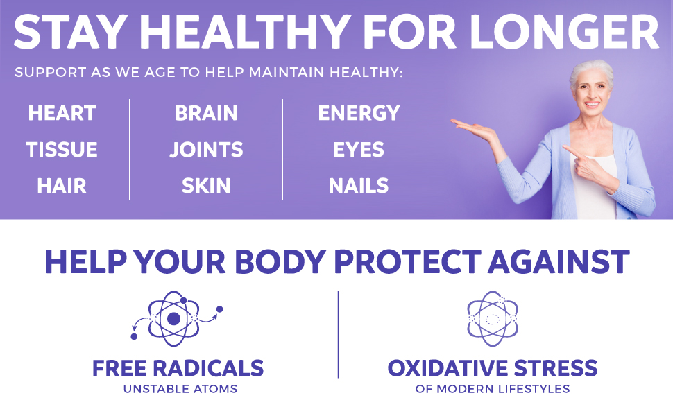 Free Radicals and Oxidative Stress natural prevention supplement - daily antioxidants - fruit