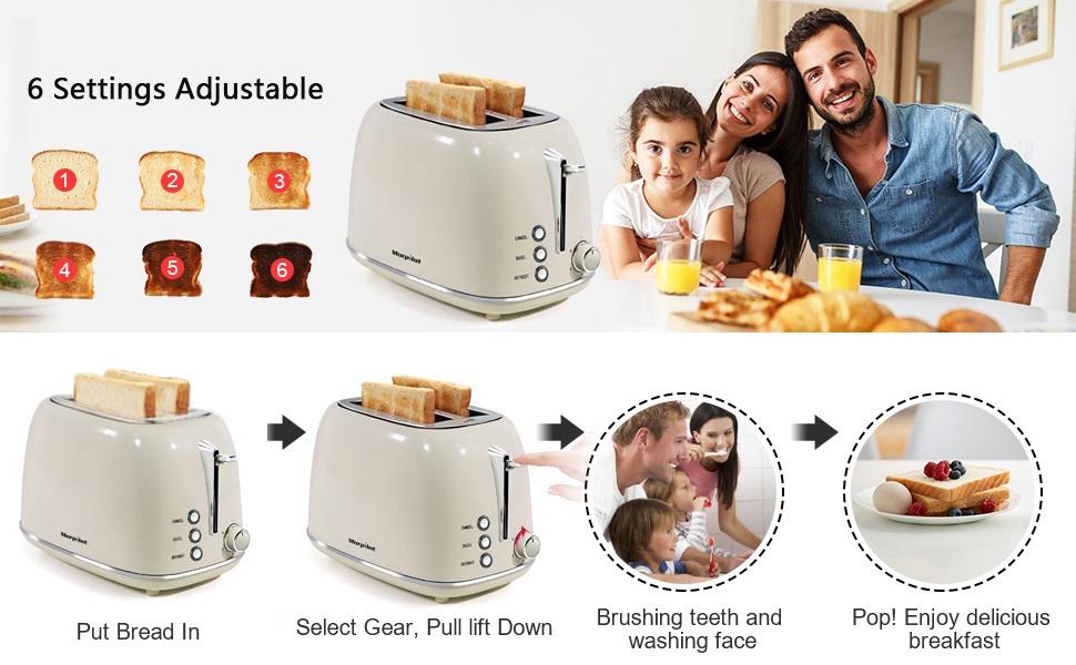 beige toaster